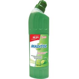 """Maditol гель """"Антибактериальный. Лайм"""" для туалета"""