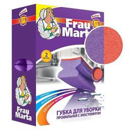 Frau marta губки профильная с эластомером