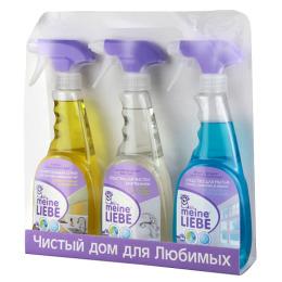 Meine Liebe набор УБОРКА1 кухонные поверхности + сантехника + стекла, 500 мл