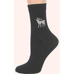 """Грация носки """"М 1102 23-1"""" темно-серый-белый"""