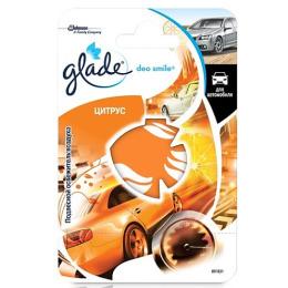 """Glade освежитель воздуха для автомобиля """"Deo Smile. Цитрус"""" подвесной"""