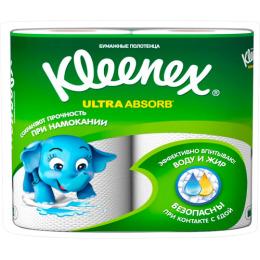 "Kleenex полотенца кухонные ""Ultra Absorb"""