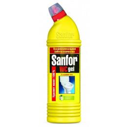 """Sanfor гель чистящий универсальный для туалетной комнаты """"Свежесть"""""""