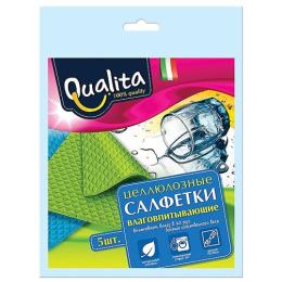 Qualita салфетки влаговпитывающие 5шт