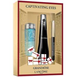 "Lancome набор ""Grandiose basic"" карандаш для глаз мини-версия ""Noir"" тон  027, двухфазная жидкость для снятия макияжа ""Bi Facil"" 30 мл, тушь ""Grandiose"" 01"