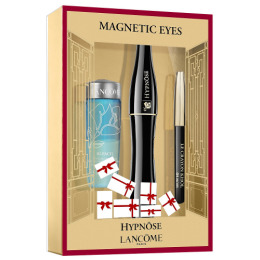 "Lancome набор ""Hypnose basic"" карандаш для глаз мини-версия Noir 027, двухфазная жидкость для снятия макияжа ""Bi Facil"" 30 мл, тушь ""Hypnose"" 01"
