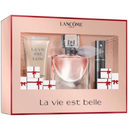 "Lancome набор ""La Vie Est Belle "" парфюмерная вода ""La Vie Est Belle"" 30 мл, лосьон для тела 50 мл, тушь для ресниц мини 2 мл"