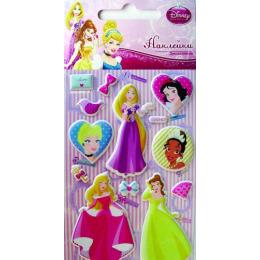 """Липуня наклейки """"Disney Зефирные. Принцессы 3"""""""
