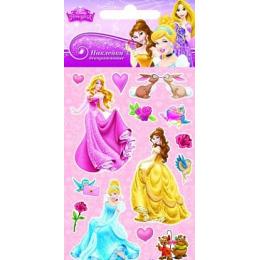 """Липуня наклейки """"Disney Яркие. Принцессы 1"""""""