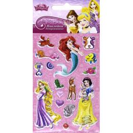 """Липуня наклейки """"Disney Яркие. Принцессы 2"""""""
