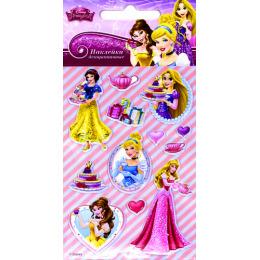 """Липуня наклейки """"Disney Яркие. Принцессы 5"""""""