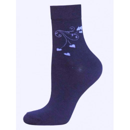 """БЧК носки женские 1100 """"Classic"""" рис. 016, темно синие"""