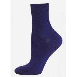 """БЧК носки женские 1100 """"Classic"""" однотонные, темно синие"""