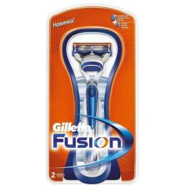 "Gillette ""Fusion"" станок с 2 кассетами"