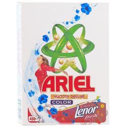 """Ariel стиральный порошок автомат 2в1 """"Color. Ленор эффект"""""""