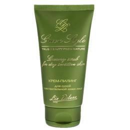 Liv Delano крем-пилинг для сухой чувствительной кожи лица