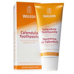 "Weleda зубная паста ""С календулой"" без запаха мяты, 75 мл"