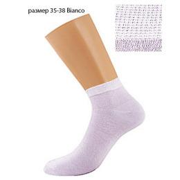 """Griff носки женские """"Donna D4U3"""" Bianco, укороченные"""