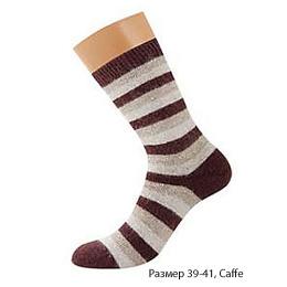 """Griff носки женские """"Donna D9AP4"""" Caffe, полоска"""