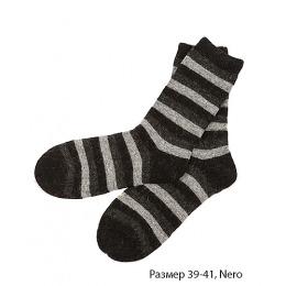 """Griff носки женские """"Donna D9AP4"""" Nero, полоска"""