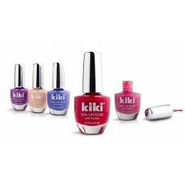 "Kiki лак для ногтей ""SILVER"" с протеином, 15 мл"