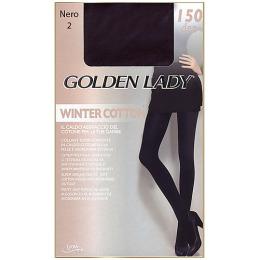 "Golden Lady колготки женские ""WINTER COTTON"" 150d, Nero"