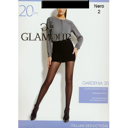 "Glamour колготки женские ""Gardenia"" 20, nero"