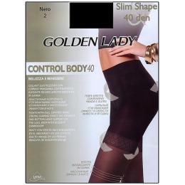 "Golden Lady колготки женские ""Control Body"" 40d, Nero"