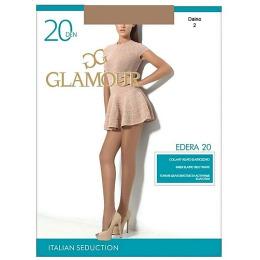 """Glamour колготки женские """"Edera"""" 20, daino"""