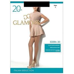 "Glamour колготки женские ""Edera"" 20, nero"