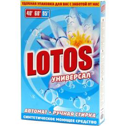 """Lotos стиральный порошок Универсал"""" атомат + ручная стирка коробка"""""""