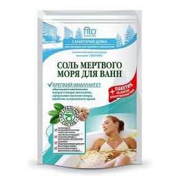 """Фитокосметик соль для ванн """"Мертвого моря"""" крепкий иммунитет"""