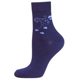 """БЧК носки женские 1100 """"Classic"""" рис. 016, темно-синие"""