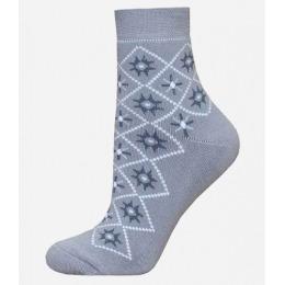 БЧК носки женские 1407 рис. 011, светло-серые