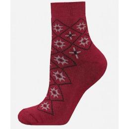 БЧК носки женские 1407 рис. 011, бордовые