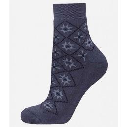 БЧК носки женские 1407 рис. 011, темно-серые