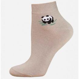 """БЧК носки женские 1502 """"Bamboo"""" рис.025, песочные"""