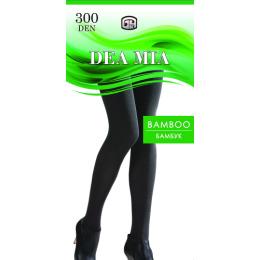 """Dea Mia колготки женские 1476 """"Bamboo 300"""" однотонные, черные"""
