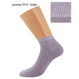"""Griff носки женские """"Donna D4U3"""" Grigio, укороченные"""