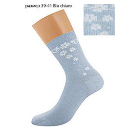 """Griff носки женские орнамент по боку и пятке """"D264"""" Chiaro"""