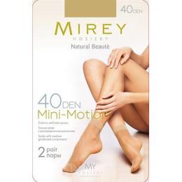 "Mirey носки женские ""Mini-Motion  40d"" 2 пары, daino"