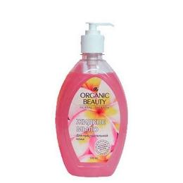 """Organic beauty мыло жидкое """"Магнолия и протеины йогурта"""" для чувствительной кожи"""