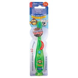 Longa Vita зубная щетка мигающая с присоской для детй 3-6 лет