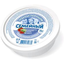 """Фитокосметик зубной порошок """"Семейный"""""""