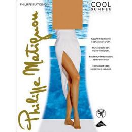 "Philippe Matignon колготки женские ""Cool summer"" 8d VB, Mandorlo"