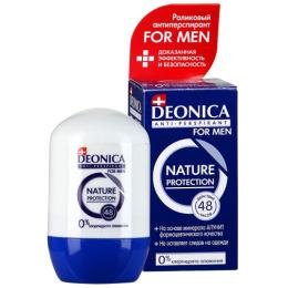 "Deonica дезодорант-антиперспирант ""Nature Protection for Men"" ролик"