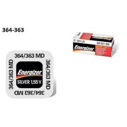 """Energizer батарейка часовая """"Silver Oxide"""" 364/363 MBL 1.55V"""