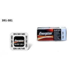 """Energizer батарейка часовая """"Silver Oxide"""" 391/381 MBL 1.55V"""