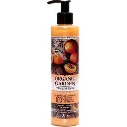"""Organic Garden гель для душа """"Сочный абрикос и персик"""""""