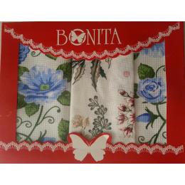 """Bonita подарочный набор """"Сиреневый сад"""" из полотенец 40 х 40 х 40 см"""